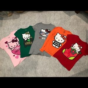 Hello kitty holiday tees girls xl (14-16)